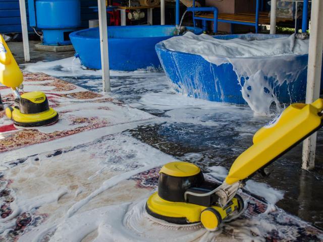 Изпиране, химическо чистене и боядисване